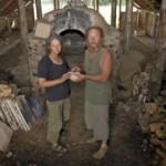 Lietuvoje vienintelė japonų tradicinė keramikos degimo krosnis anagama
