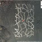 Paslaptingi simboliai dykumoje skirti žvalgybos palydovams?