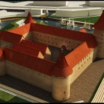 Moksleivių pilių maketai sudomino ir muziejus