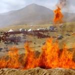 Tibeto liepsnų ataidai, Vėlinės