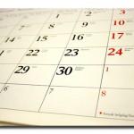 Ar jau laikas peržiūrėti kalendorių?
