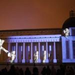 Ant Vilniaus katedros – kalėdinė 4D projekcija