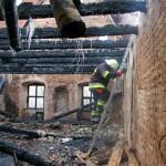 Gaisras. Tytuvėnų bažnyčiai ir vienuolynui liepsnos padarė milijoninę žalą