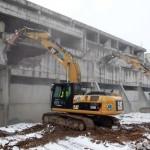 Vilniuje pradėtas griauti pastatas-vaiduoklis
