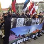 "Vilniuje eitynės ""Lietuva – lietuviams, lietuviai – Lietuvai!"", neišvengta incidentų"