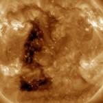 Saulėje pasirodė trikampis - ar majai buvo teisūs?