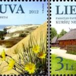 Kuršių nerija - naujuose pašto ženkluose