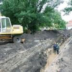Bernardinų sode archeologai aptiko viduramžių Vilniaus kvartalą