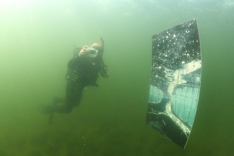 Organizatorių archyvo nuotr. / Nardymas po vandeniu