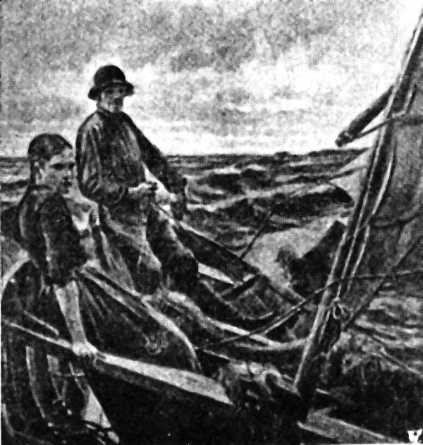Žemaitės irgi nenešė nelaimės laive (Babicko foto, Karys)