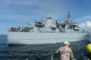 Baltijos jūros dugno lobynai: karo laikų minos, inkarai ir laivų nuolaužos Audriaus Bareišio nuotr.