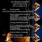 """Senovės gyvenvietę prikels """"Baltų kultūros šventė 2013"""""""