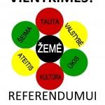 Referendumas - Tautos valia