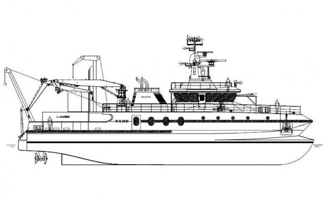 laivo brezinys