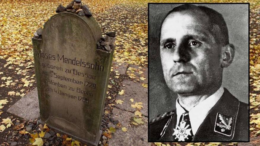 Henricho Miulerio antkapis žydų kapinėse