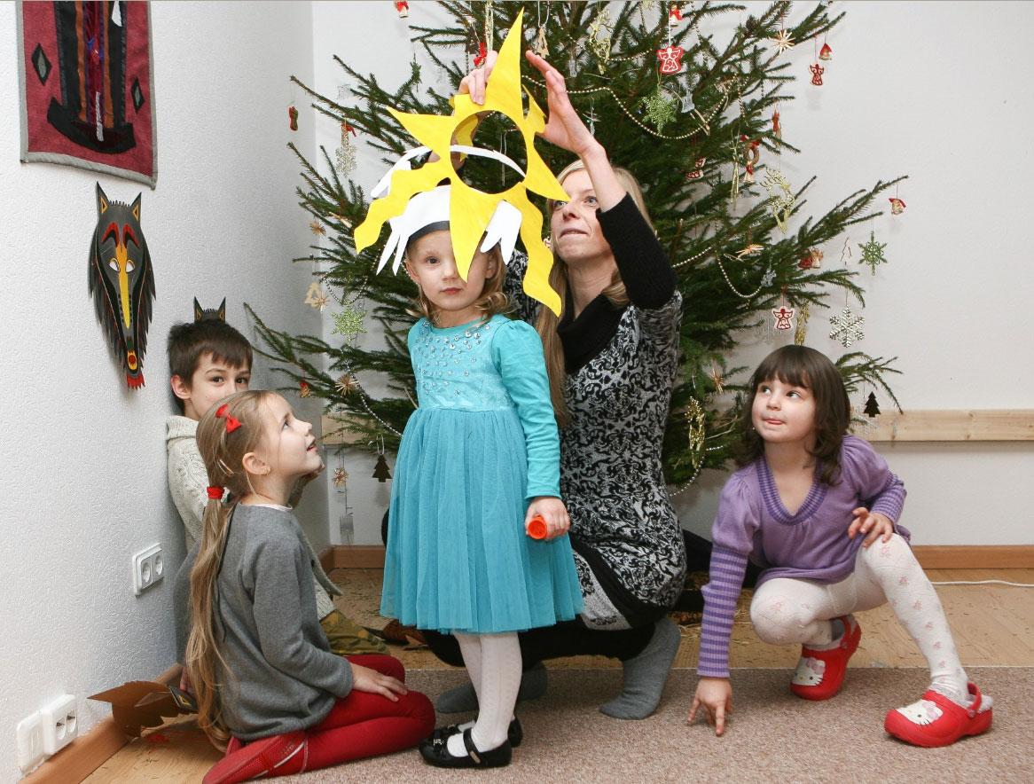Baltiškos kalėdos vaikų draželyje © DELFI (K.Čachovskio nuotr.)