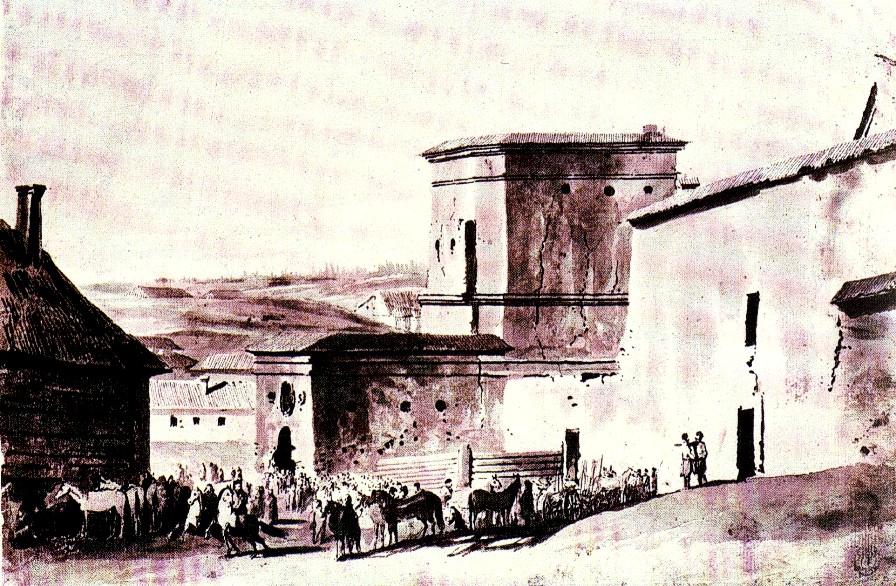 Vilniaus miesto gynybinės sienos Rūdninkų vartai buvo vienas stipriausių miesto fortifikacijų elementų.
