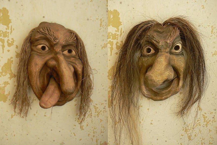Algirdo Juškevičiaus Foto Užgavėnių kaukės