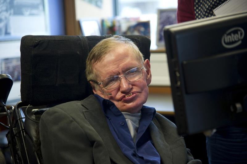 Fizikos profesorius Stephenas Hawkingas (SCANPIX nuotr.)