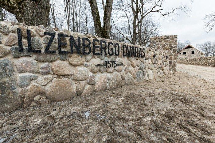 """Ilzenbergo dvaras© """"Statyba ir architektūra"""""""