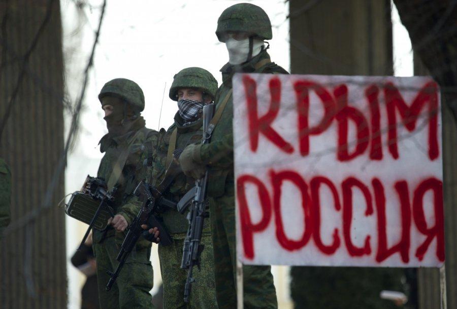 Rusų kariai Kryme AP/Scanpix