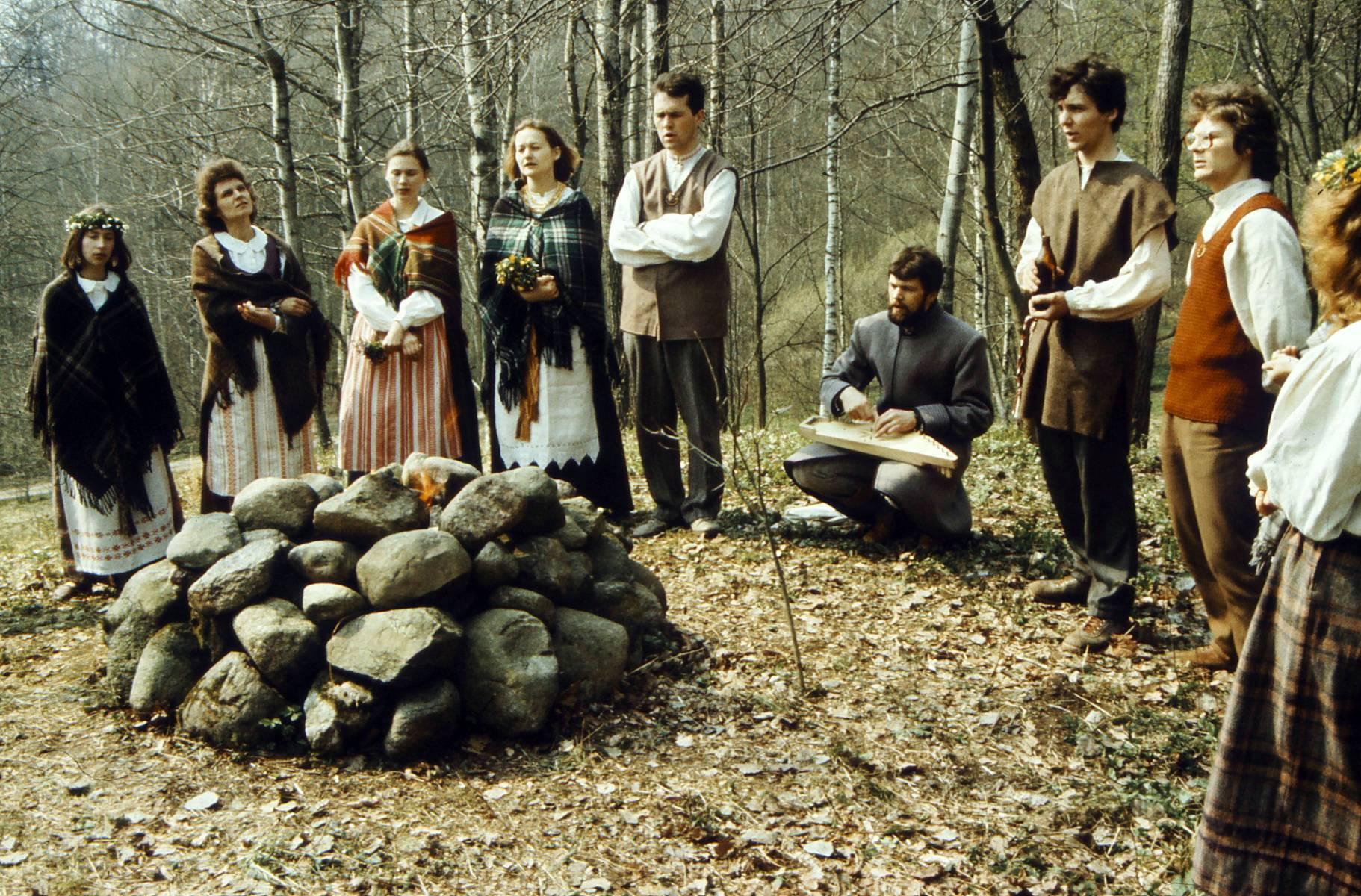 Foto iš archyvo personalas.ktu.lt. Jorės šventimas