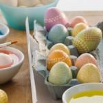 kiaušinių dažymas natūraliais dažais