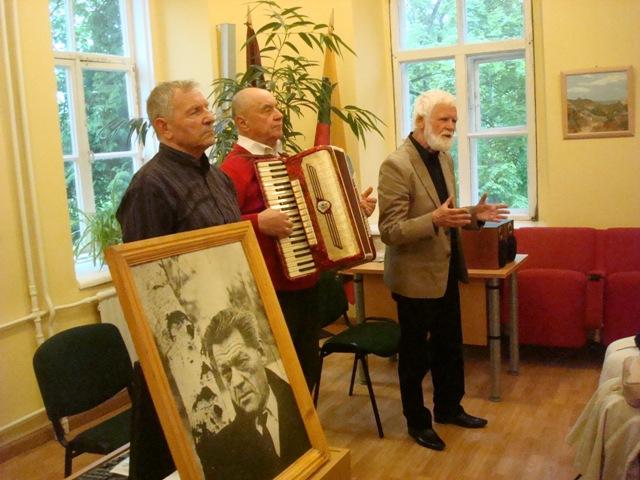 S. Sipaitis, P. Zaremba, Č. Stonys M. K. Čiurlionio kultūros ir paveldo fondo nuotr.