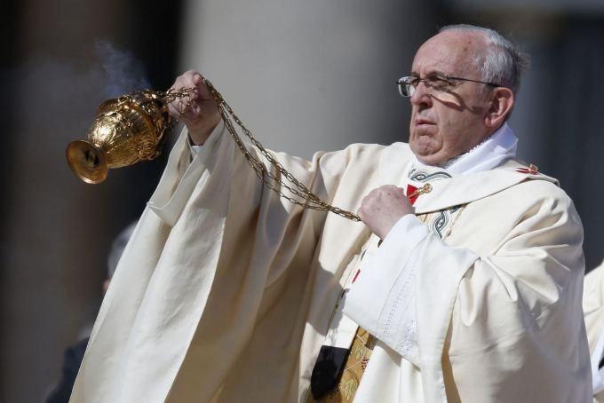 "AFP/""Scanpix"" nuotr. / Popiežius"