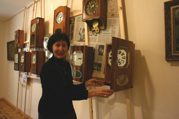 A.Kripaitės nuotr./Laikrodžių muziejus šiemet jau sulaukė beveik trijų šimtų klaipėdiečių dovanotų laikrodžių. Anot muziejininkės Danos Menkutės, dalis jų pateks į ekspozicijas