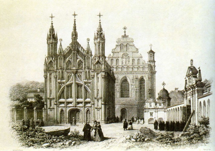 Šiaurės plytų gotikos šedevras Šv. Onos ir Bernardinų bažnyčios ansamblis pristato neeilinį viduramžių meistrų talentą. Itališkojo Renesanso atspindys