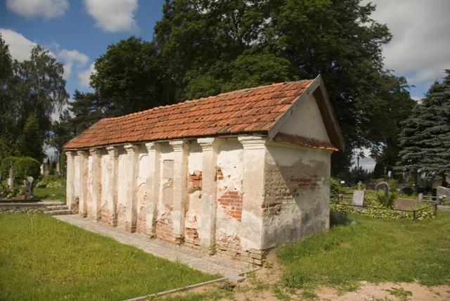 Paparčiu kapinių kolumbariumas. Foto L.Balsio
