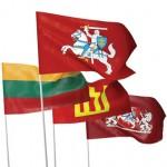 Lietuva: valstybė - viena, jos vėliavos - dvi?