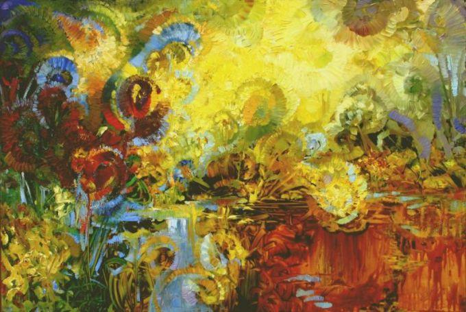 """Organizatorių nuotr. / Atidaromas XIV tarptautinis ekspresionistinės tapybos pleneras """"Nidos ekspresija""""."""