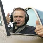 Egėjo jūroje sudužo lakūno Jurgio Kairio lėktuvas, pilotui pavyko išsigelbėti