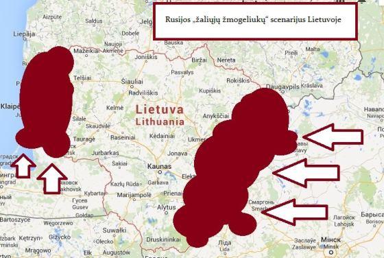 Analitikai spėja, kad Rusija bandytų Lietuvoje sukurti separatistinius regionus.