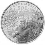 Moneta Oršos mūšio 500 metų sukakčiai išleista rugsėjo 8-ąją