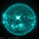 Saulė į Žemę paleido X kategorijos žybsnį, kuris Žemėje sukels geomagnetinę audrą