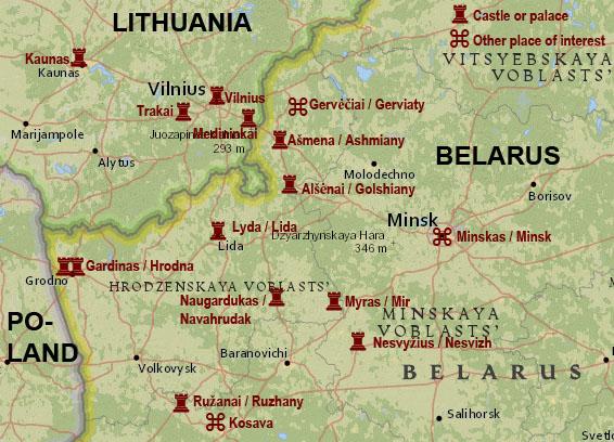 BelarusLithuanianCastles