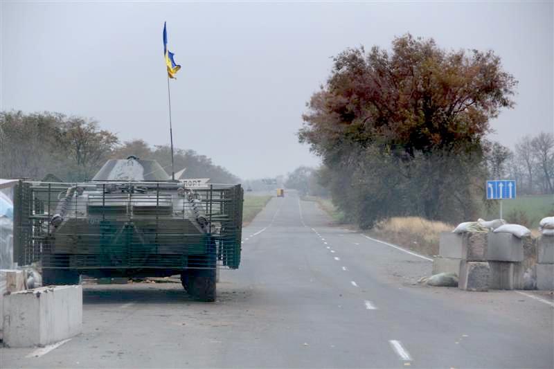 Nors rugsėjo pradžioje ukrainiečiai ir prorusiški separatistai susitarė dėl paliaubų, Rytuose tvyro didžiulė įtampa. J. Ohmano nuotr.