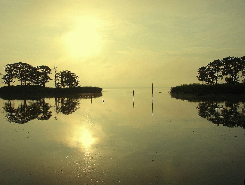 Rytas Gintaro įlankoje. Viktorijos Rainytės fotografija. efoto.lt
