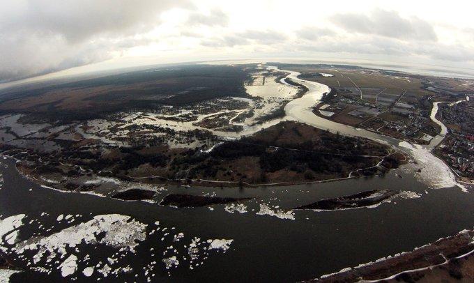 15min nuotr. / Sausio potvynis Pamaryje 2015 m. sausio 05 d.