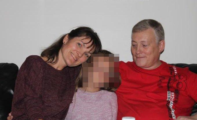 Asmeninio albumo nuotr. / Loreta ir Audrius Daškevičiai su mažąja Lija