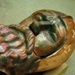 Kario skulptūra – pakeliui į Vytauto Didžiojo kariliono bokštą