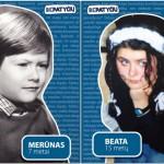 Vaikystės nuotraukas parodę žinomi žmonės kviečia kartu stabdyti patyčias
