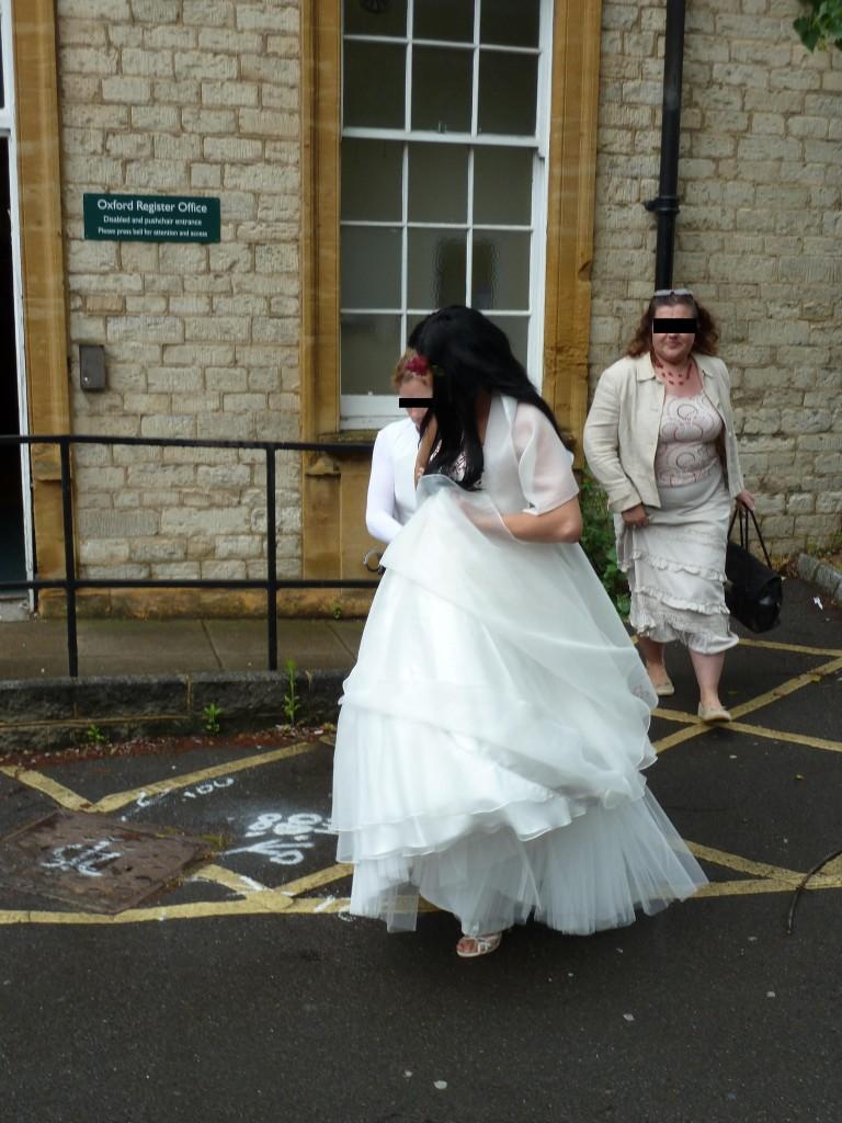 Wikimedia nuotr. / Užfiksuotas momentas iš fiktyvios santuokos Oksforde