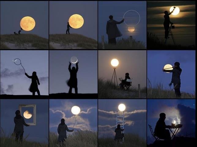 Koks iš tiesų Mėnulio dydis? (nuotr. leidėjų)