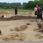 Dujotiekio trasoje slypėjo senovės lobiai