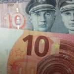 Nuo liepos 1-osios nebeprivaloma skelbti kainų dviem valiutomis