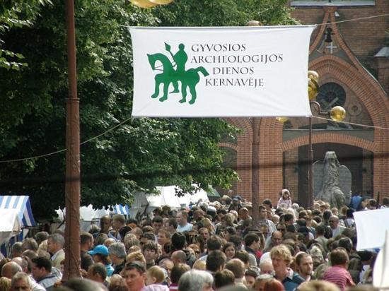 """XVI tarptautinis eksperimentinės archeologijos festivalis """"Gyvosios archeologijos dienos Kernavėje"""""""
